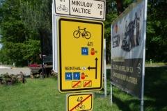 rozcestí cyklostezek Eurovelo