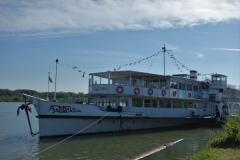 výletní loď na Dunaji