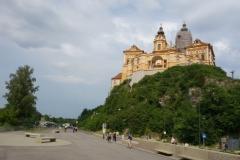 zámek ve městě Melk