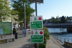 značení cyklostezek