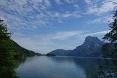jezero v Alpách