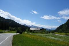 průjezd Alpami