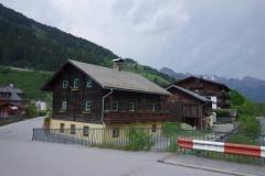 dům v alpách