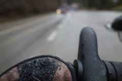 cykloturistika v dešti