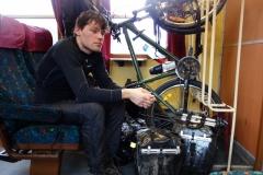 Martin Štverák v polském vlaku