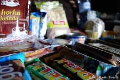 jídlo na cestu