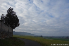 podzimní obloha