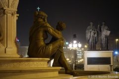 večerní Skopje