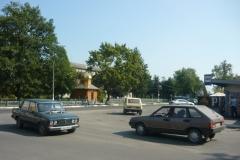 křižovatka ve vesnici Sviťaz