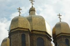kopule pravoslavného chrámu