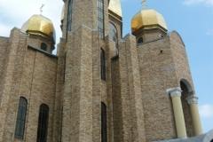 pravoslavný chrám v Pidvoločisk