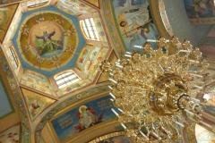 malba v pravoslavném chrámě