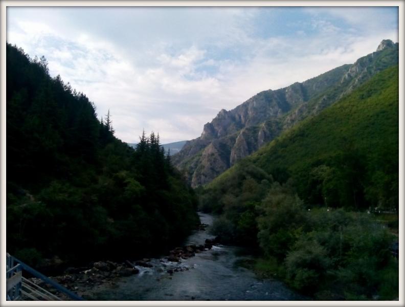 Kaňon Matka v Makedonii
