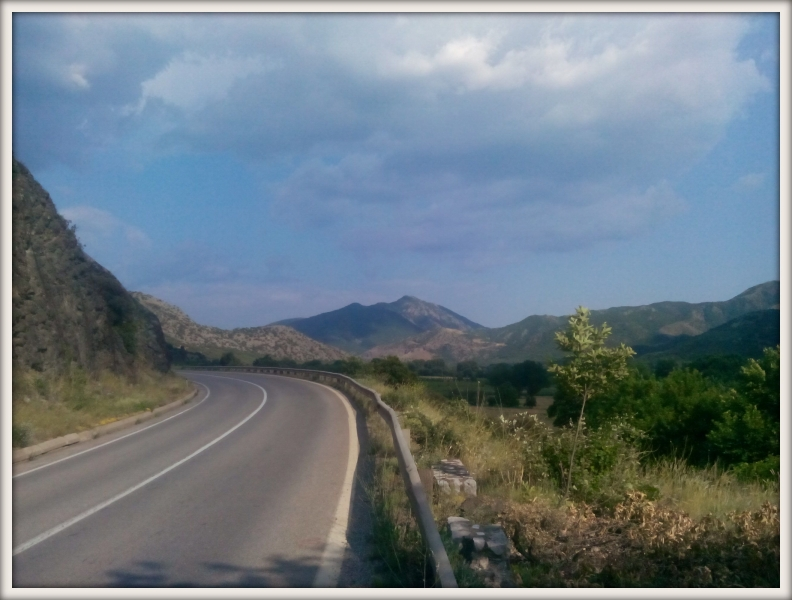 cesta do Řecka