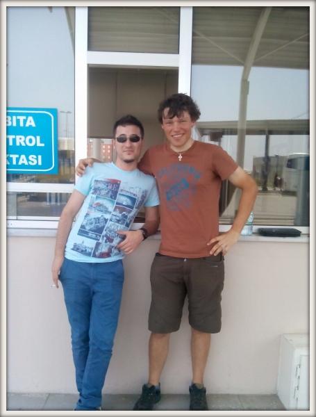 Martin Štverák a Ahmed z Bandirmy