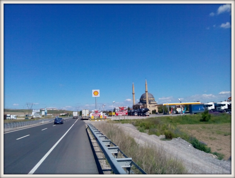 silnice na Samsun