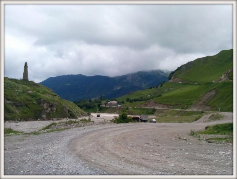 cesta k jezeru Kazenoj-Am