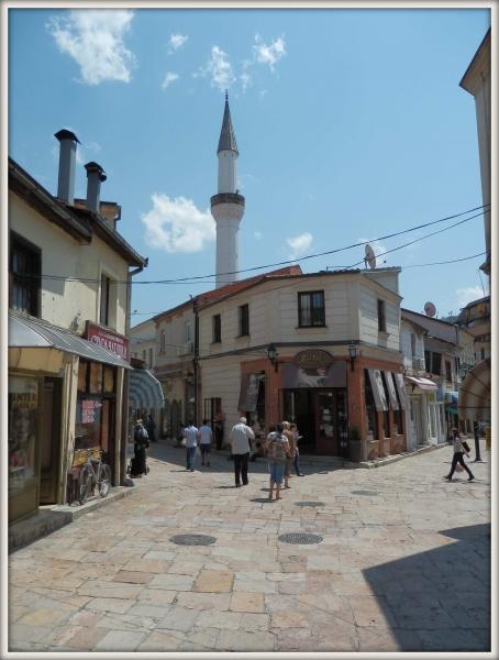 Skopje staré město