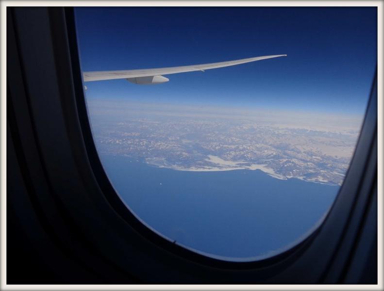 Grónsko s letadla