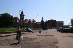 vlakové nádraží v Užhorodě