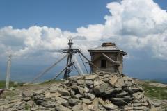 vrchol hory Pietros