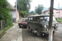 ukrajinský vozový park