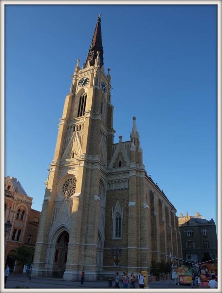 Kostel v Novém Sadu