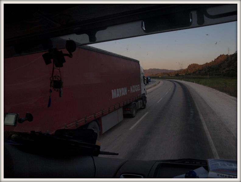 íránský kamion