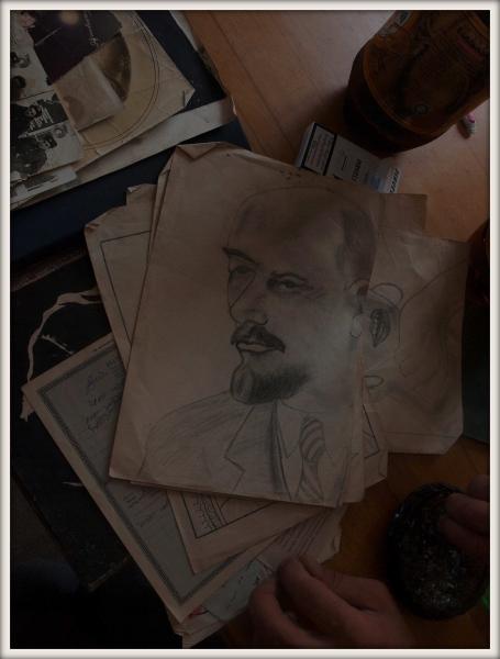 portrét Lenina