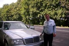 Ukrajinec s Mercedesem