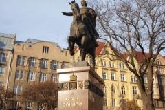 Král Danilo socha