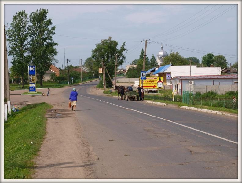 ukrajinský venkov