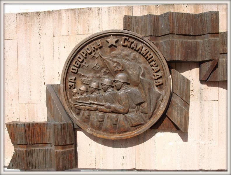 pomník válce ve Stalingradě