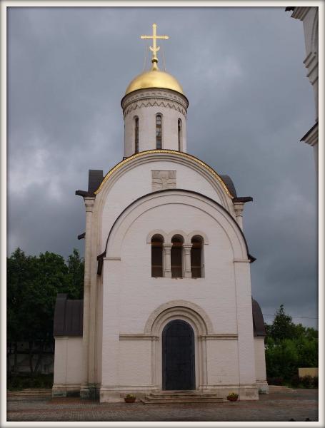 pravoslavný kostel ve městě Vladimir