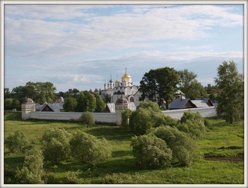 pravoslavný klášter v Suzdalu