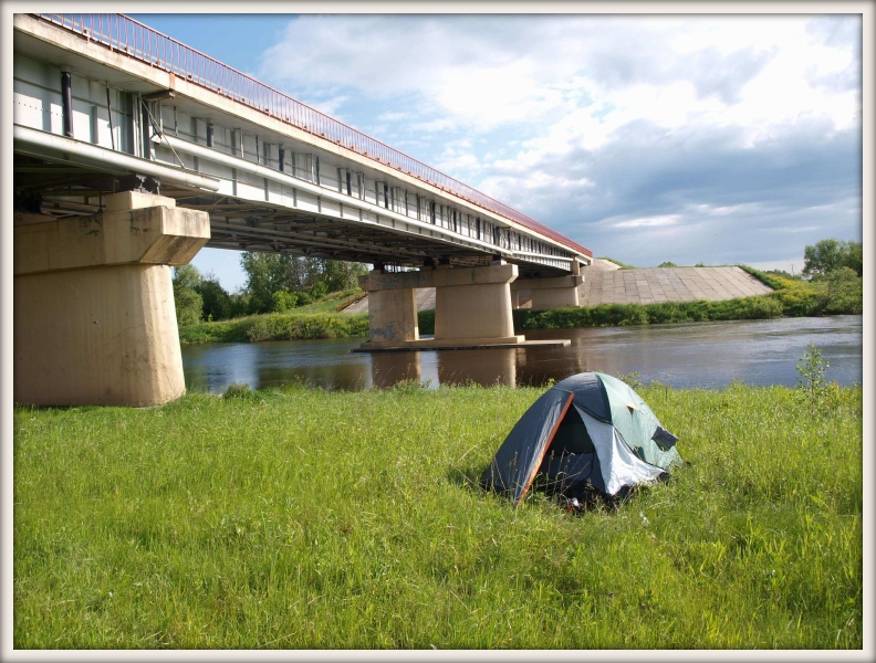 stan pod mostem