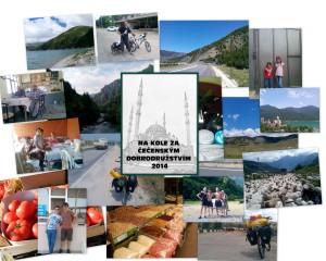 Kniha Na kole za čečenským dobrodružstvím 2014