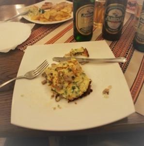 jídlo a pivo Lvovské