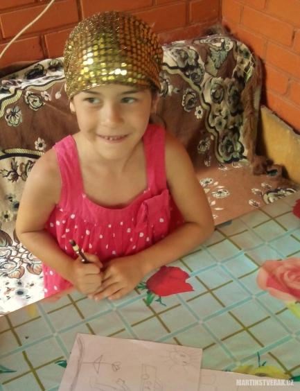 čečenské děti