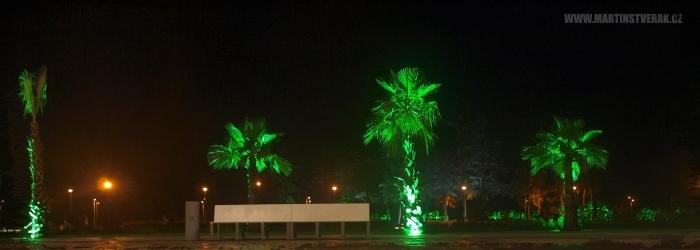 noční pobřeží v Batumi 1