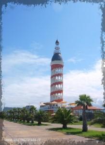 pobřeží v městě Batumi