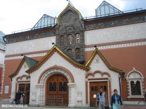 Tretjakovskaja galerie v Moskvě