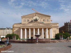 Velké divadlo v Moskvě