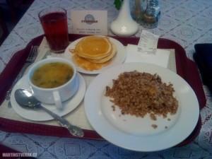 kolik zaplatíte za jídlo v Moskvě