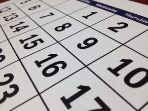 stanovení data vaší dovolené – výpravy