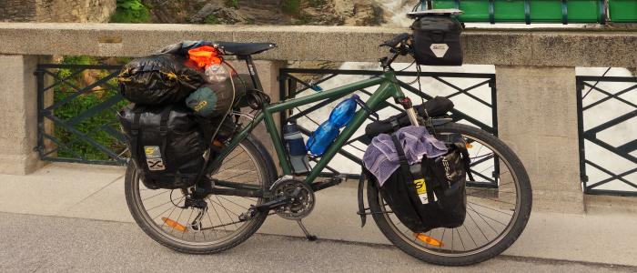 vybavení na cyklovýpravu