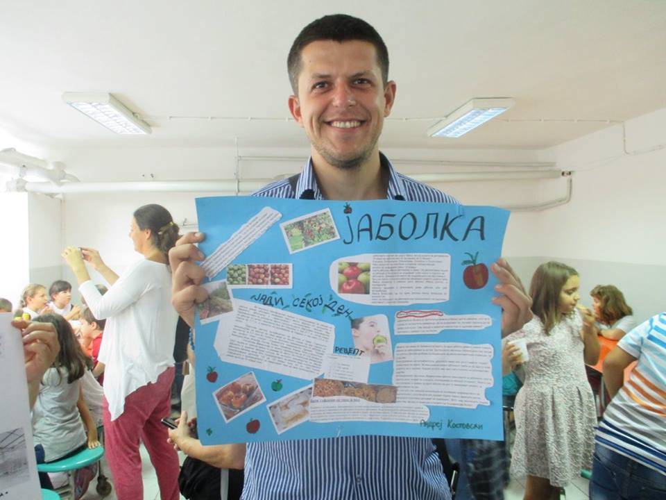 Dragan Jovanov vzdělávání dětí zdravému životnímu stylu