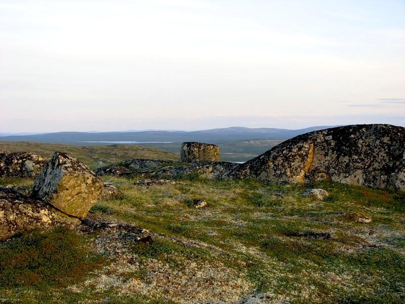 příroda v okolí města Murmansk
