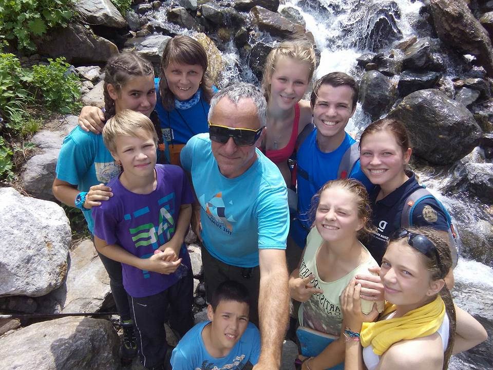 turistika pro děti na Kavkaze