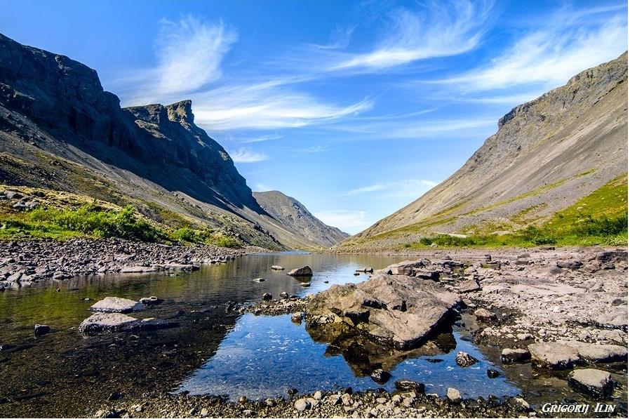 Murmanská oblast hory Chibiny Grigorij Ilin